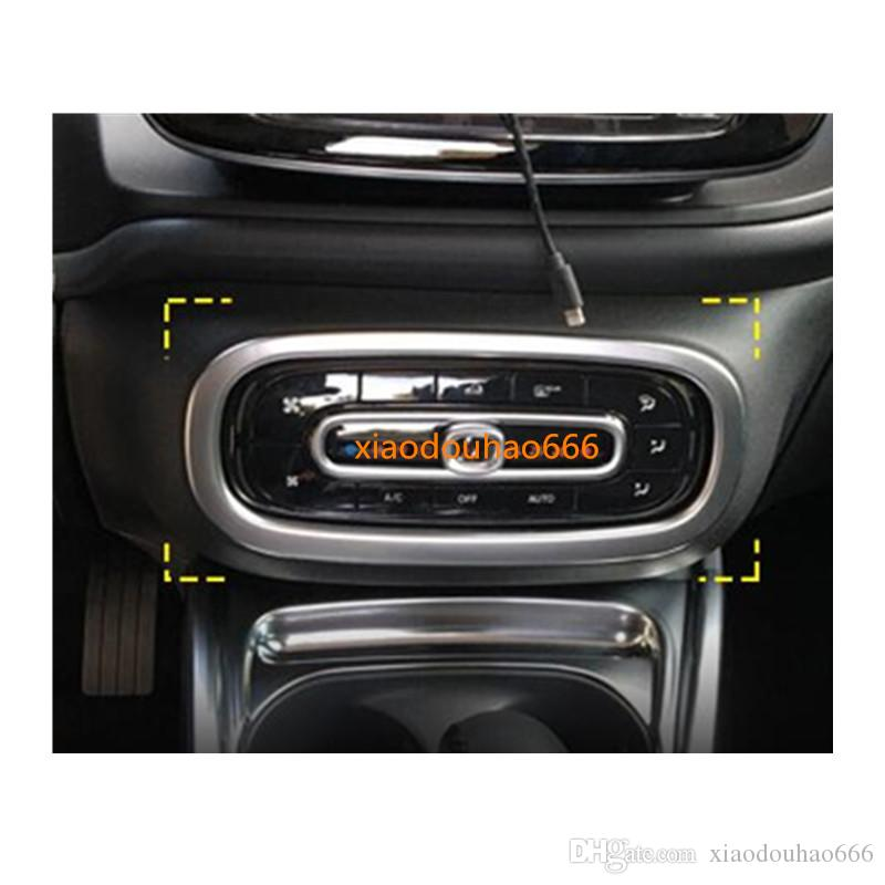 For Kia Sportage KX5 2016-2017 2PCS Inner Air Condition Vent Outlet Cover Trim