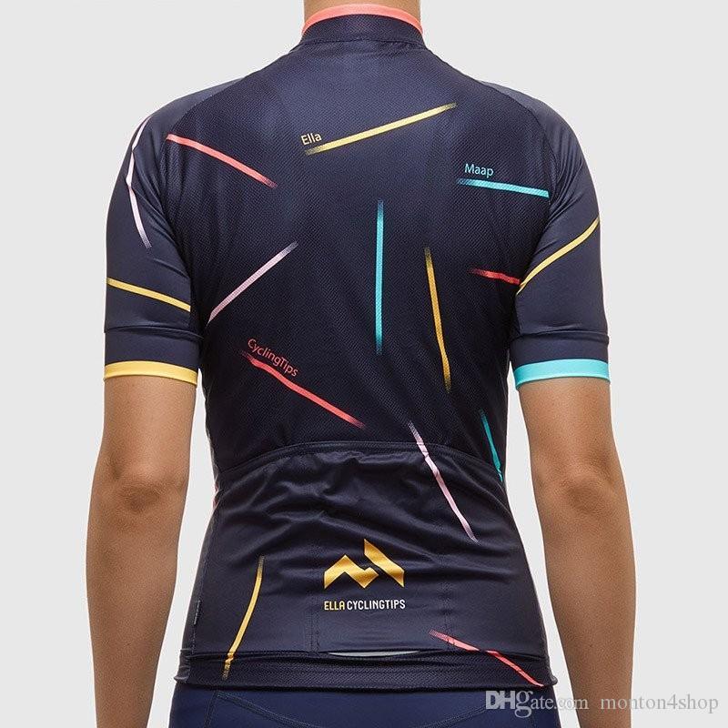 2019 Mapp Bayan Kısa Kollu Bisiklet Forması / Bisiklet Giyim / ciclismo maillot MTB Jersey