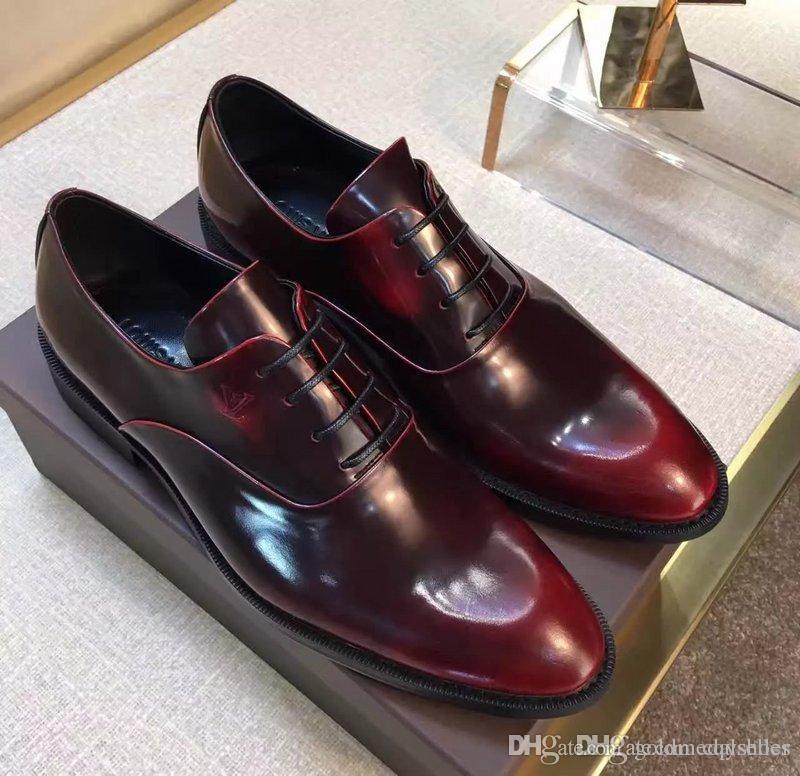 Leather Luxury Men S Office Shoes Men S Best Shoes Fashion Hot