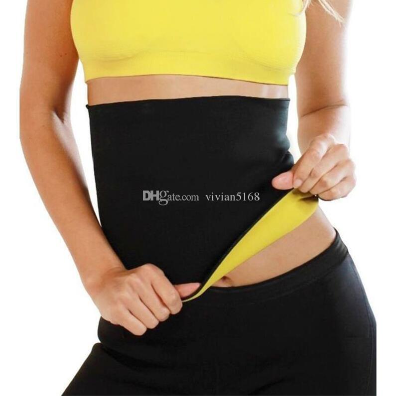 88f6fdb4db 2019 S 3XL Plus Size Slimming Waist Cinchers Women Neoprene Hot Body Waist  Belts Weight Loss Waist Trainer Trimmer Corsets From Vivian5168