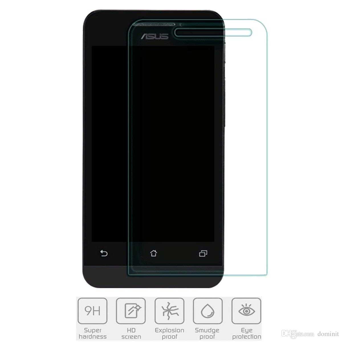 Protection Ecran Tablette Protecteurs Decran En Verre Trempe Asus Zenfone 6 Sans Bulles HD Clear Anti Rayures Reflets Film Traces De Doigts Pour