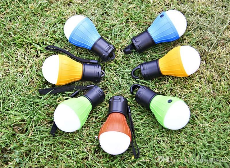 Tenda de plástico Lâmpada de Noite Forma de Lâmpada LED Mini Conforto Interruptor de Borracha de Poupança de Energia Lâmpadas de Suspensão de Qualidade Superior 4jb B
