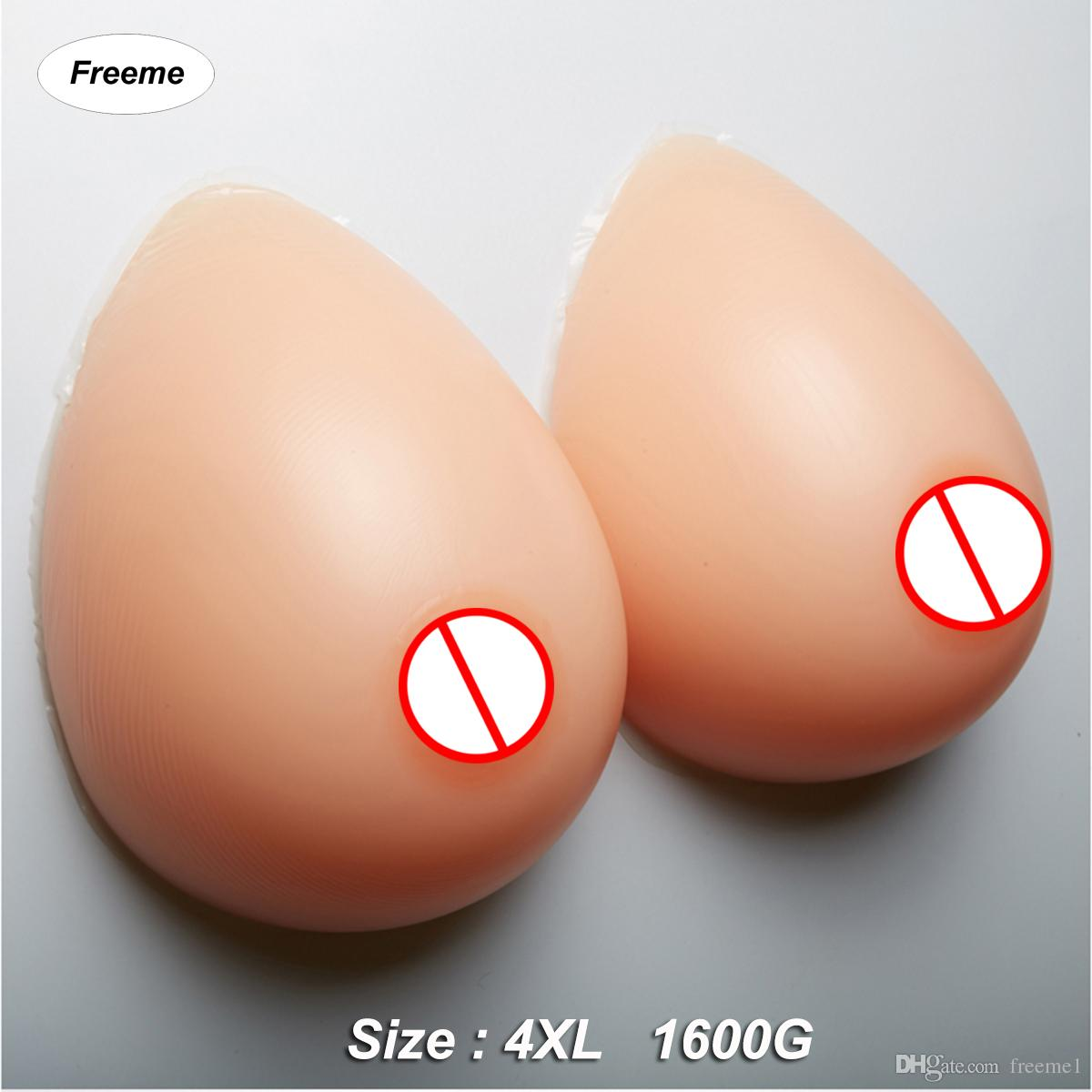 Freeme Breast Forms Silicone for Crossdresser Transgender Artificial ... 3d8bb4240