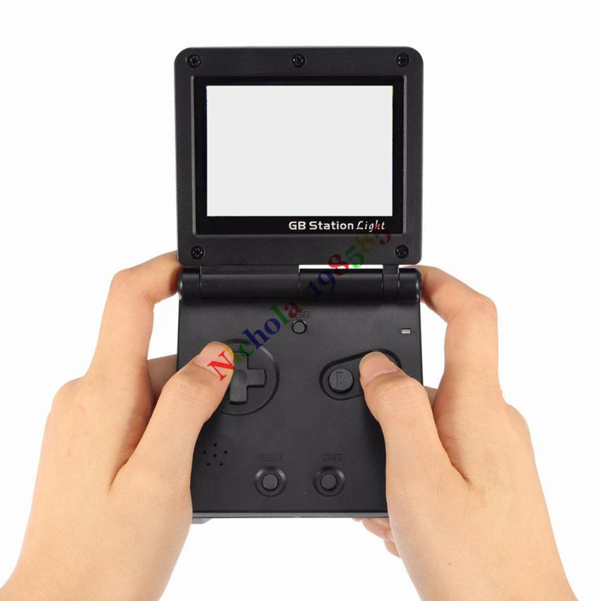 GB Station Light PK PVP PXP PAP PMP Games Handheld Game Player 8-Bit Game Console Bulit-in Retro Style Games for Gaming Child Xmas Best Gift