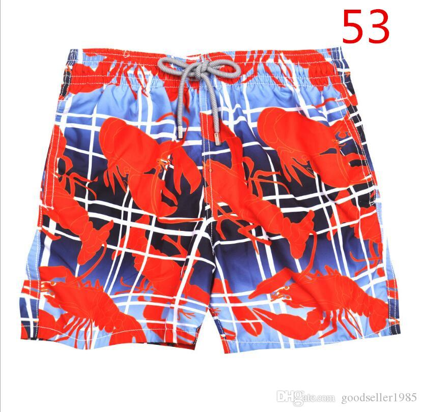 3b77624189 2019 53 Red Men'S Swimwear Men'S Swimwear Shorts Beach Surfing Pants Quick  Dry Printed Board Shorts Summer Tropical Volley Bathing Suits From  Goodseller1985 ...