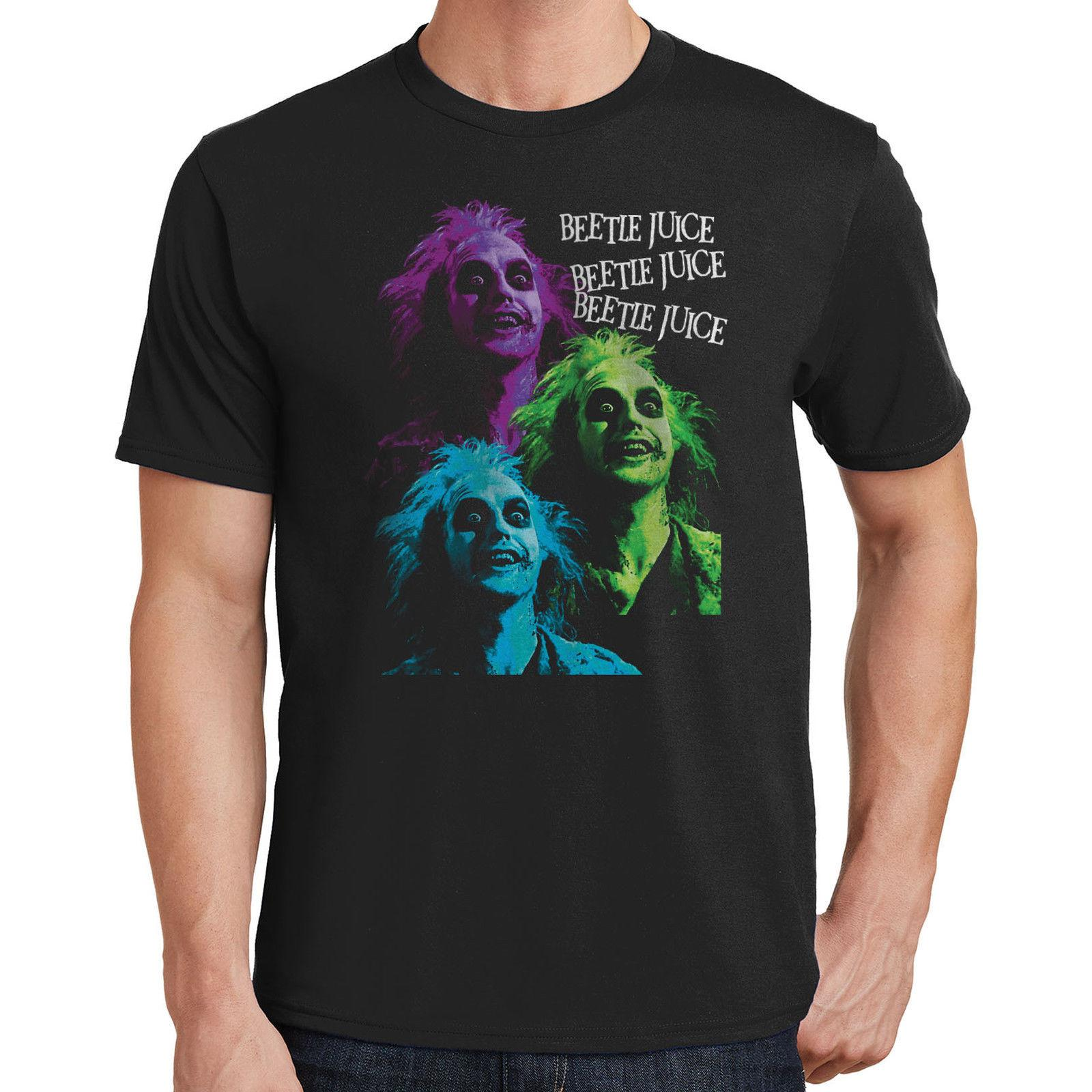 bb62cb7401f0 Beetlejuice Graphic T Shirt Cult Classic 80s Tim Burton Michael Keaton 286  Funny Casual Tee Buy Designer Shirts Great Tees From Fatcuckoo, $12.96|  DHgate.