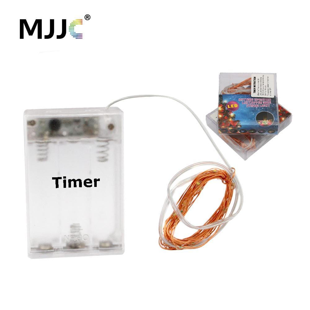Led Battery Operated Fairy Lights 2m 20 Bulbs Christmas Mariage ...
