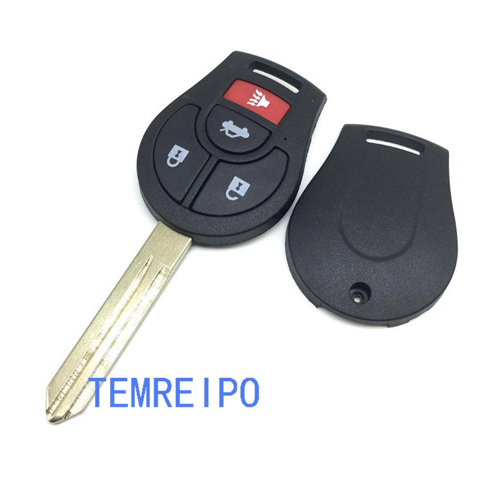 Replacement Case Fob Remote Key Shell 3+1 Button for NISSAN Maxima Altima  Sentra Versa