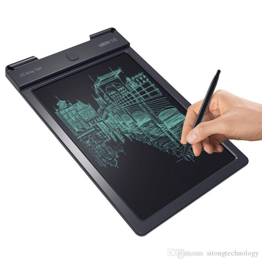 Top-Quality Drawing Board Portable Digital Writing Tablet With LCD Writing Screen + Drawing Pen 9 inch Handwriting Pads Drawing Toy For Kids