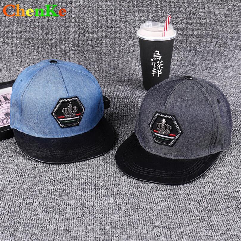01d04cf30f ChenKe Men Snapback Casquette Women Denim Baseball Cap Dad Brand Bone Hats  For Men Hip Hop Gorra Crown Labeling Vintage Hat Caps Millinery Richardson  Hats ...