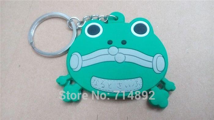 / Naruto pendentifs cosplay Uzumaki Gama-Bunta / Hatake Kakashi Pakkun cosplay Soft Rubber Figure téléphone porte-clés