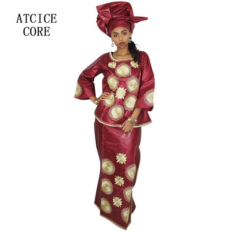 03b235790e3d5 2019 African Dresses For Women 100% COTTON NEW AFRICAN FASHION DEISGN BAIZN  RICHE EMBROIDERY DESIGN DRESS Clothes LB006# From Begonier, $59.05 |  DHgate.Com