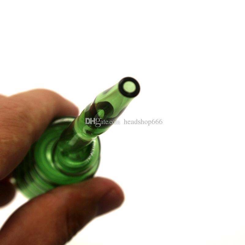 7 Цветов Стекло Pyrex Фильтр Горелки Масла Воды Курительные Трубки Ручной Трубы Стеклянные Трубы Высокого Качества Горелки Для Курения