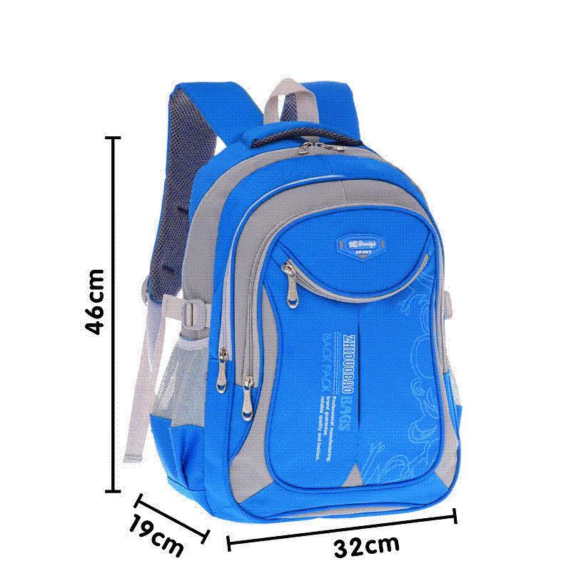 01646ea7b95a 2018 Горячие новые дети школьные сумки для подростков мальчики девочки  большой емкости школа рюкзак водонепроницаемый ранец дети книга сумка  mochila