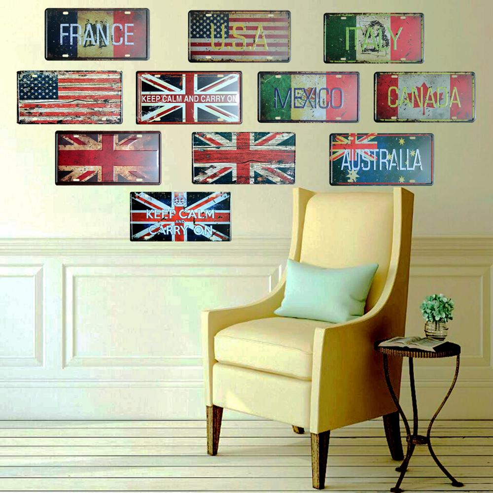Unique Keep Calm And Carry On Wall Art Ornament - The Wall Art ...
