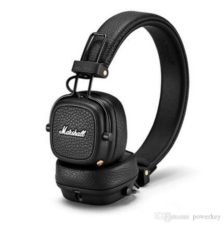 Acquista Cuffie Bluetooth Marshall Major III 3.0 Più Recenti Con Microfono  Cuffie Stereo Hi Fi Bassi Profondi Senza Fili Major 3 Professional Iphone  XS Max ... fe27a0e6dec6