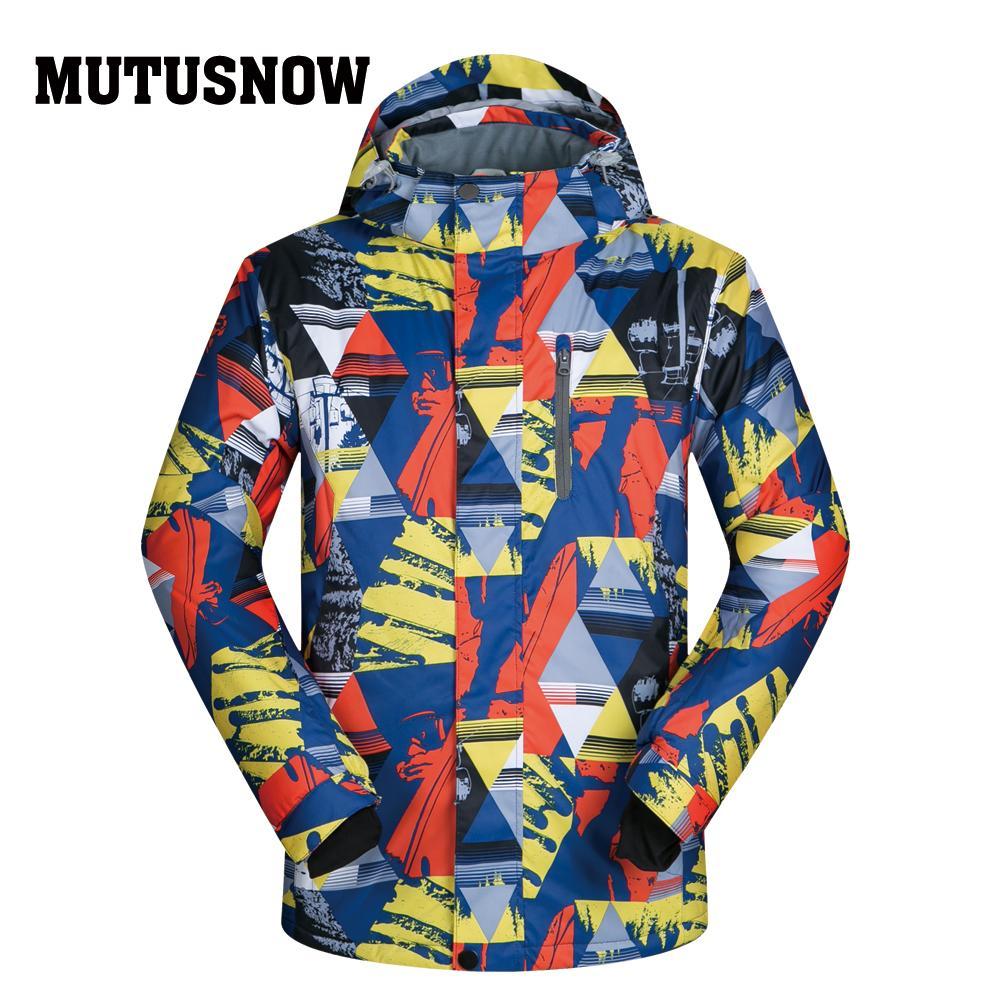 b5fbf9b468 Ski Jackets Brands 2018 New Outdoor Sports Men s Windproof ...