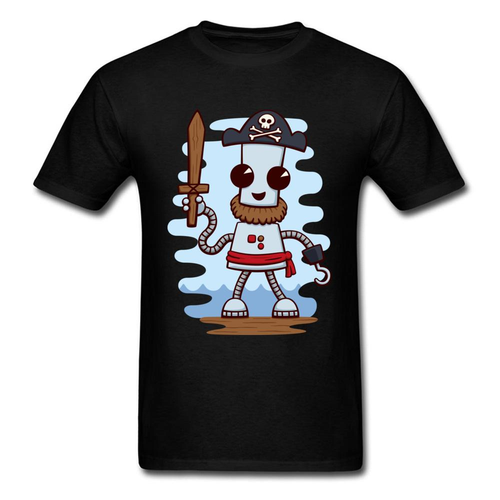 Round Neck Pirate Ned 100 Cotton Mens T Shirts Summer Undertale