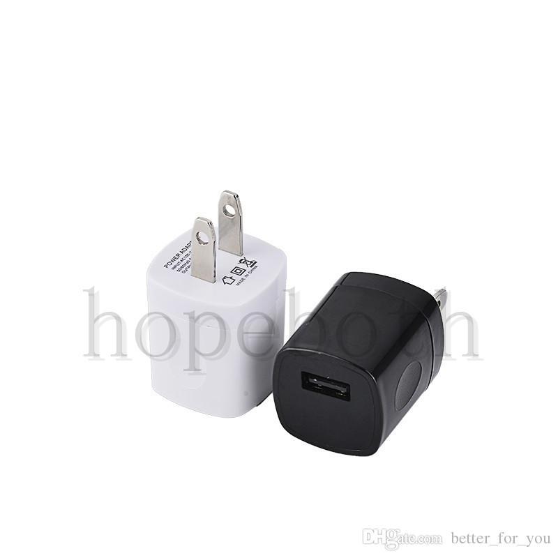 USB AC Зарядное Устройство Отпечатков Пальцев 1A Домашнее Зарядное Устройство Адаптер Mini USB зарядное устройство Для Samsung Huawei Смартфонов mpБесплатная Доставка