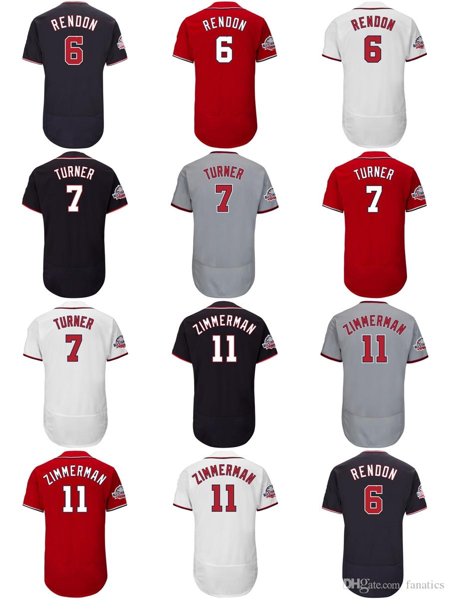 3c56926ea Cheap Mens Womens Kids 2018 All-Star Game Washington 6 Anthony Rendon 7  Trea Turner 11 Ryan Zimmerman Blue Grey Red White Baseball Jerseys 2018 All- Star ...