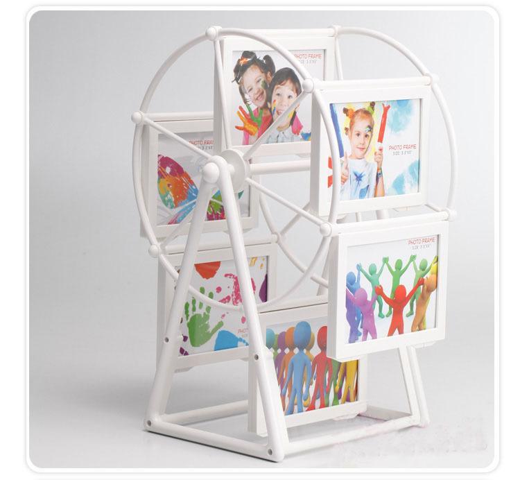 Photo Frame Plastic European Ferris Wheel Combination Wedding Frame ...