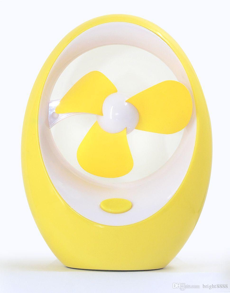 Yaratıcı yumurta şeklinde mini USB fan Bilgisayar masaüstü klima Çocuk karikatür mango fan