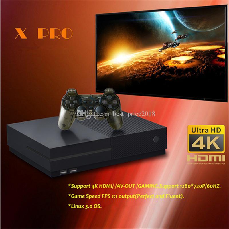 2018 venda quente Suporte 4 K Hdmi Saída Video Game Console pode armazenar 800 jogo Retro Game Console Para TV X PRO Frete grátis
