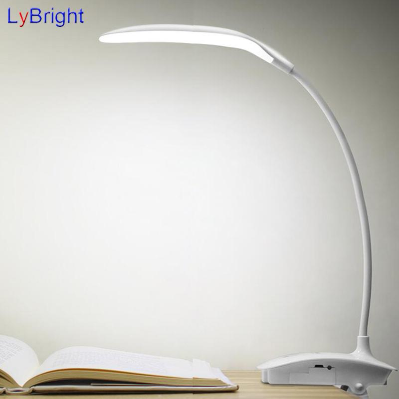 2018 Modern Desk Lamp Eye Protection Charging Dormitory Clip Light Led Learning Usb Mini For Bedroom From Amosty 74 87 Dhgate Com