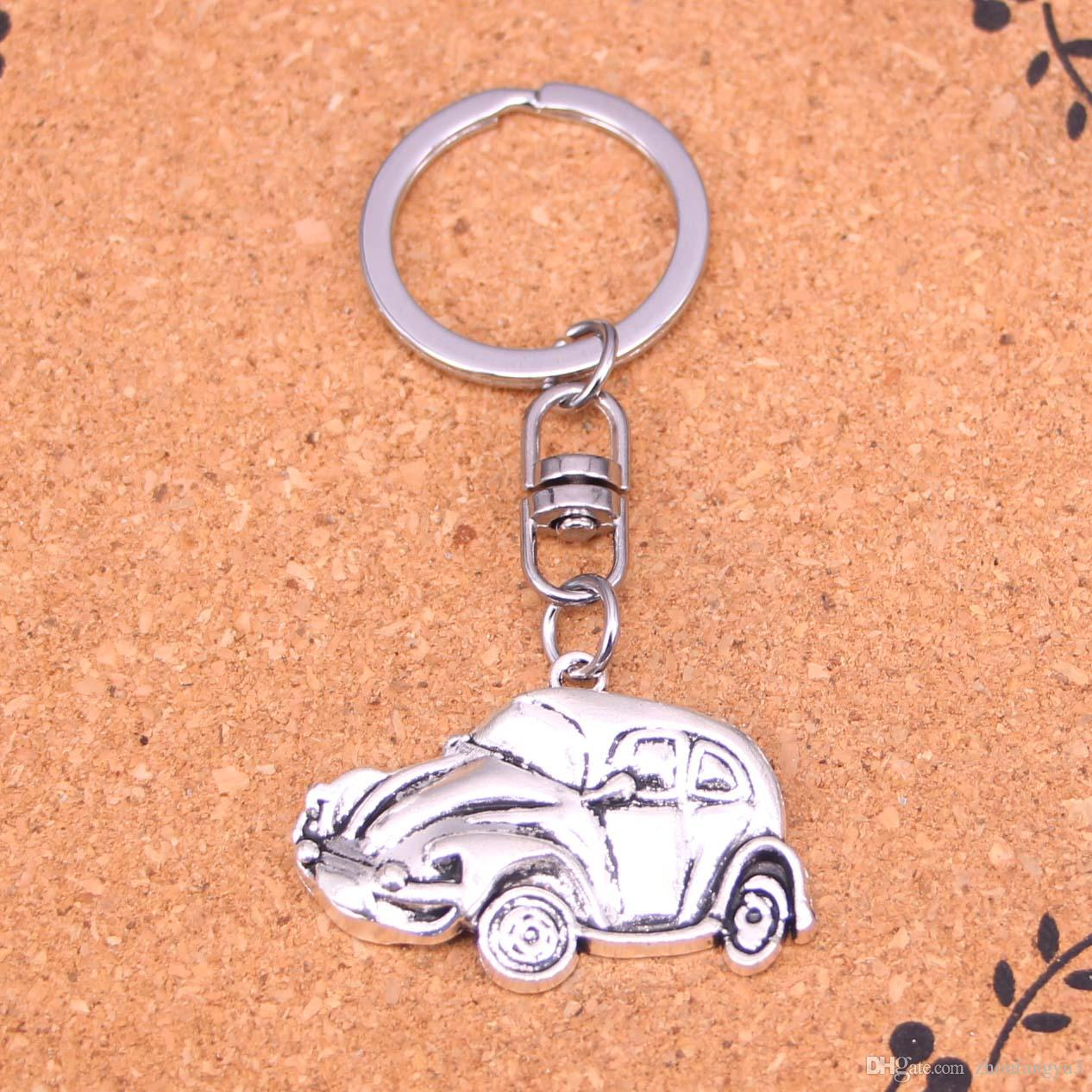 FORD FIESTA RS TURBO Mark 3 Sports Car Koolart Leather and Chrome Keyring