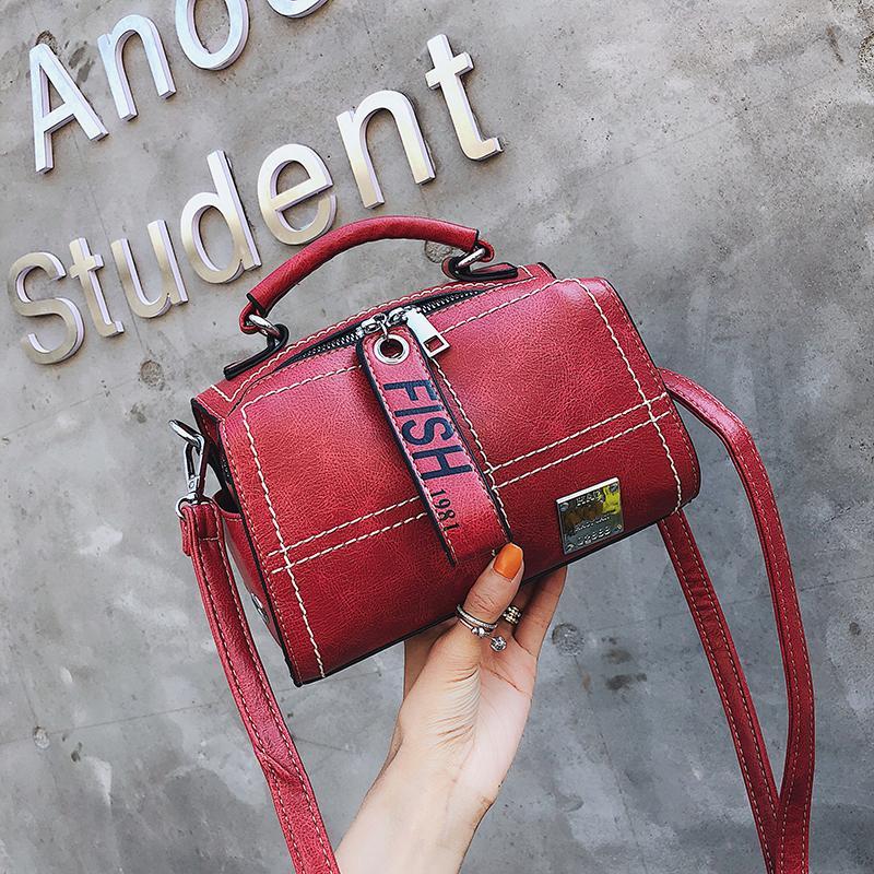 0c40d07a4b57 RANYUE Solid Handbags Women Leather Flap Crossbody Bags Women Famous ...