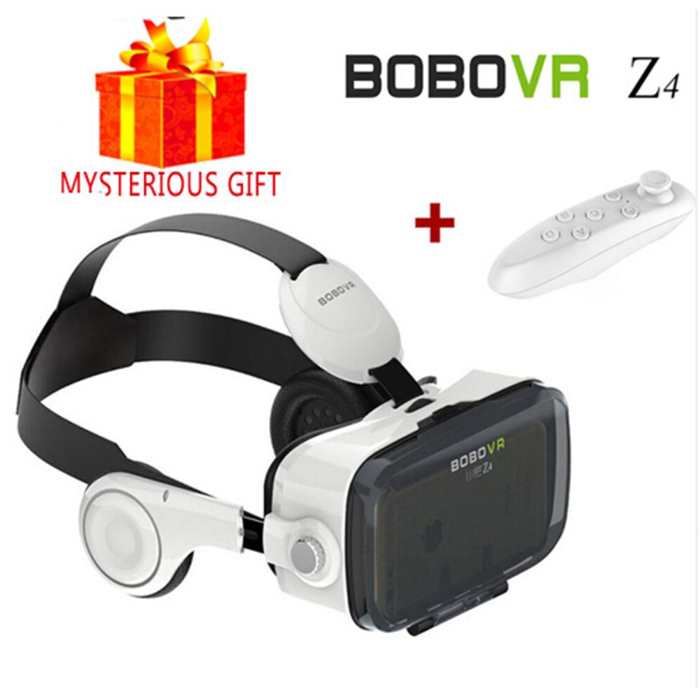 Xiaozhai Z4 BOBOVR Google Cardboard Vrbox Casque 3D VR Pro Box Virtual Reality Glass Goggles Gamepad for Samsung iPhone Android