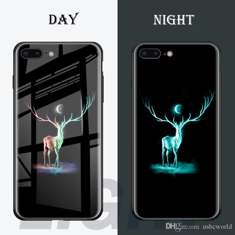 coque iphone 8 plus lumineuse