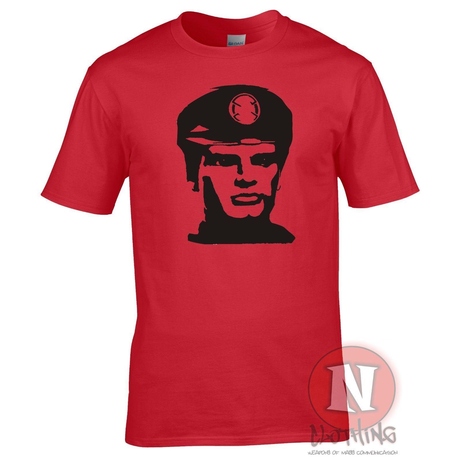 Captain Scarlet T Shirt Spectrum Mysterons Cult Sci Fi Retro Tv Tshirt Make Shirts Online Tees Design From Spreadshirt 1156