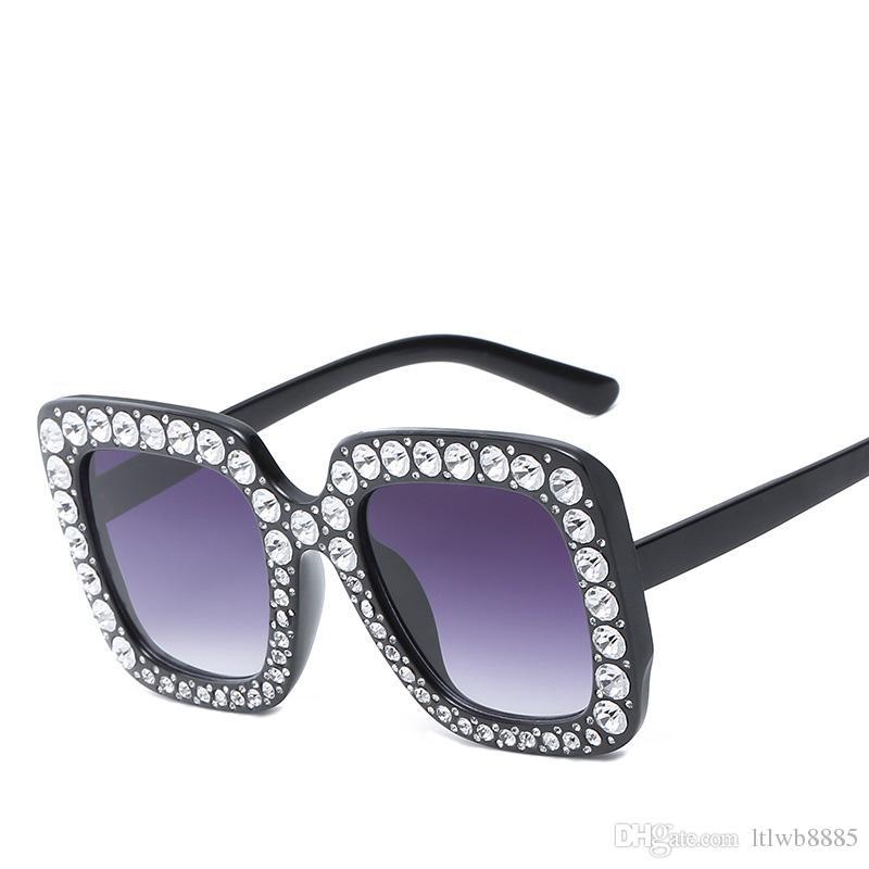 e500f21730 Cristal Mujer Diamante 2018 Rosa Gafas Compre De Sol Damas MUVzSqpG