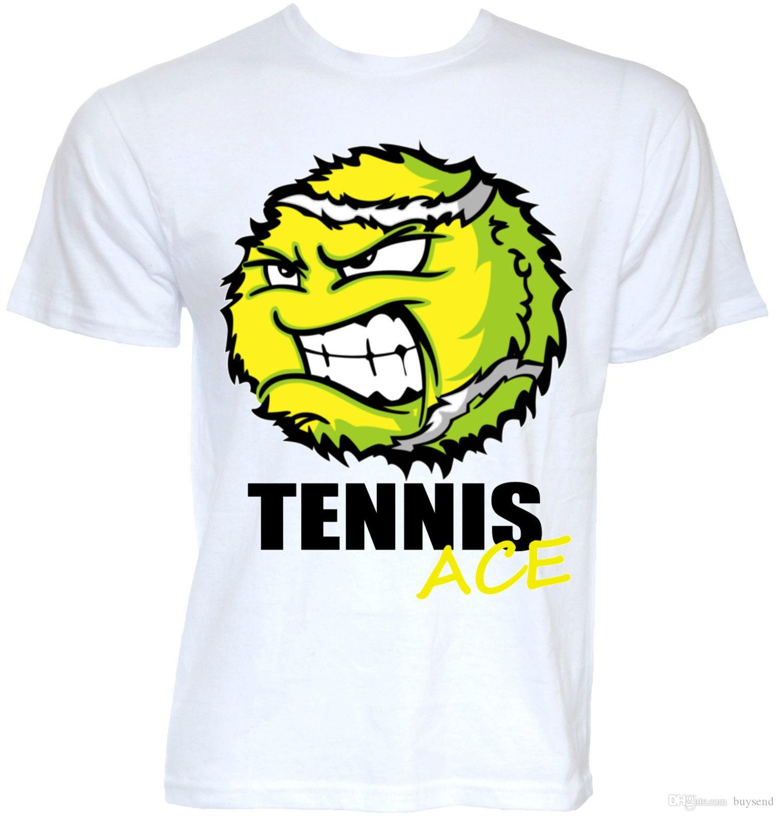 a11d9160b FUNNY TENNIS T SHIRTS MENS COOL NOVELTY STYLISH SLOGAN JOKE TENNIS GIFTS T  SHIRT One T Shirt A Day One Day T Shirt From Buysend, $10.03| DHgate.Com