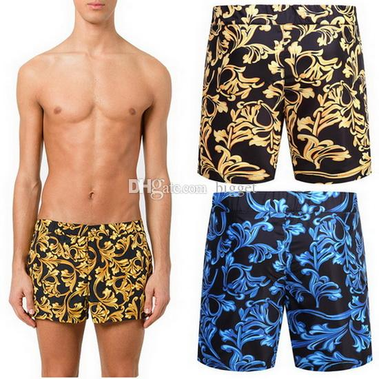 67c3e92180 Polyester Swim Shorts Men Beach Wear 2018 Summer Swimming Printed Floral  Board Shorts Pants Design Men's Swim Shorts Online with $47.91/Piece on  Bigget's ...