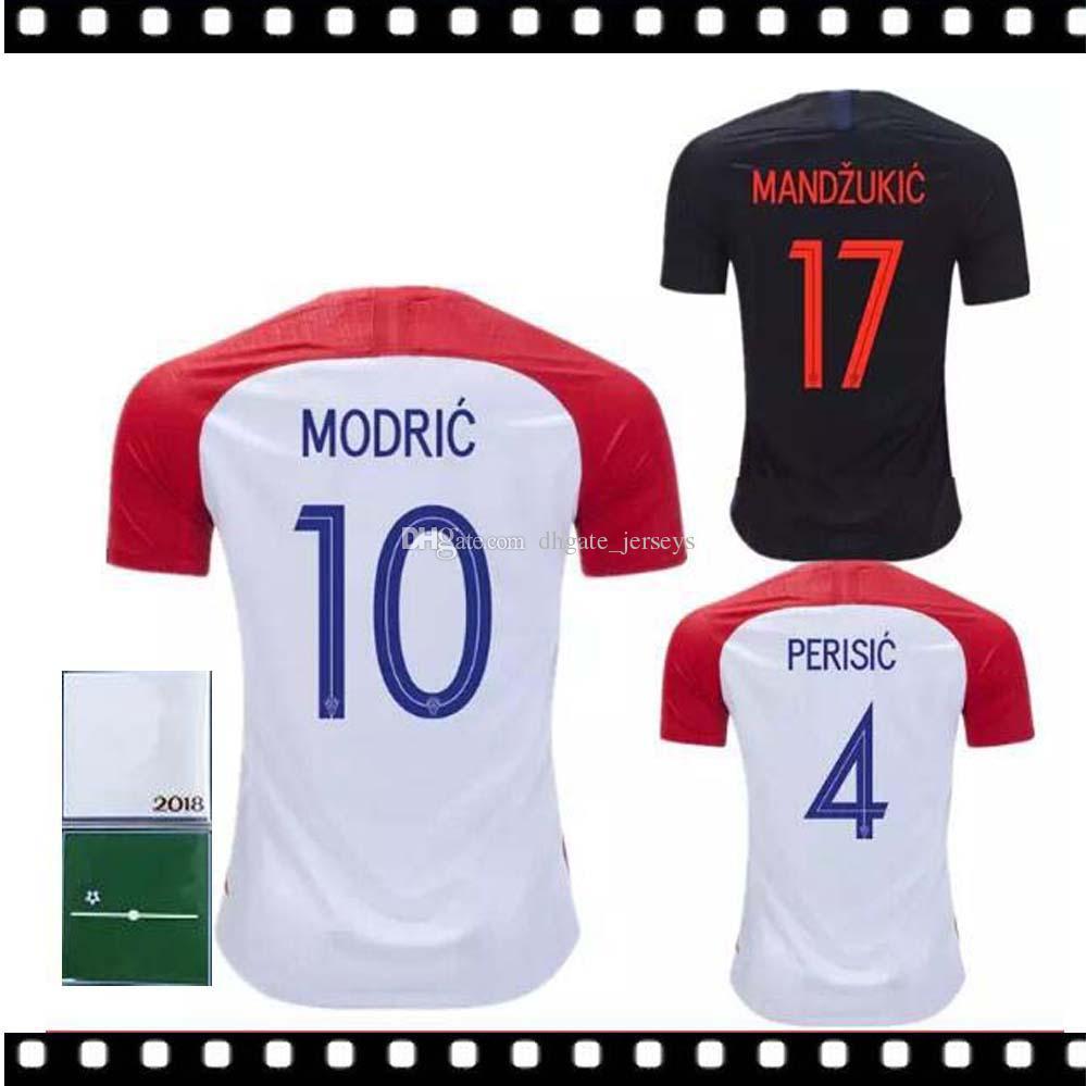 2019 2018 Designed For Atia Home Soccer Jersey MODRIC PERISIC RAKITIC  MANDZUKIC SRNA KOVACIC Red KALINIC Hrvatska Football Shirt From  Dhgate jerseys c0e4ed6c7