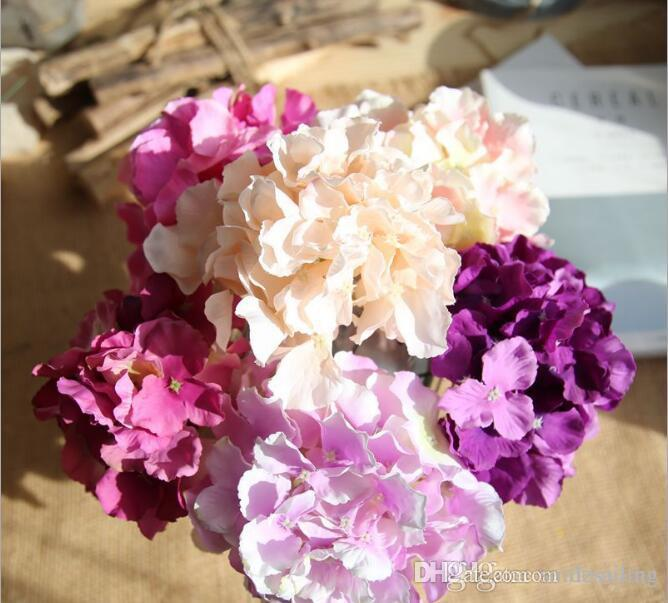 Best hydrangea silk flowers diy artificial flower components for best hydrangea silk flowers diy artificial flower components for wedding party centerpieces home holiday decoration 07356 under 061 dhgate mightylinksfo
