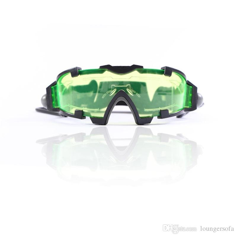 bd0df26db3 2019 High Quality Clout Goggles Night Vision Of Children Glasses Protect  The Eyes Cool Lighting Safety Goggle Camping Equipment 25zj IiWW From  Loungersofa