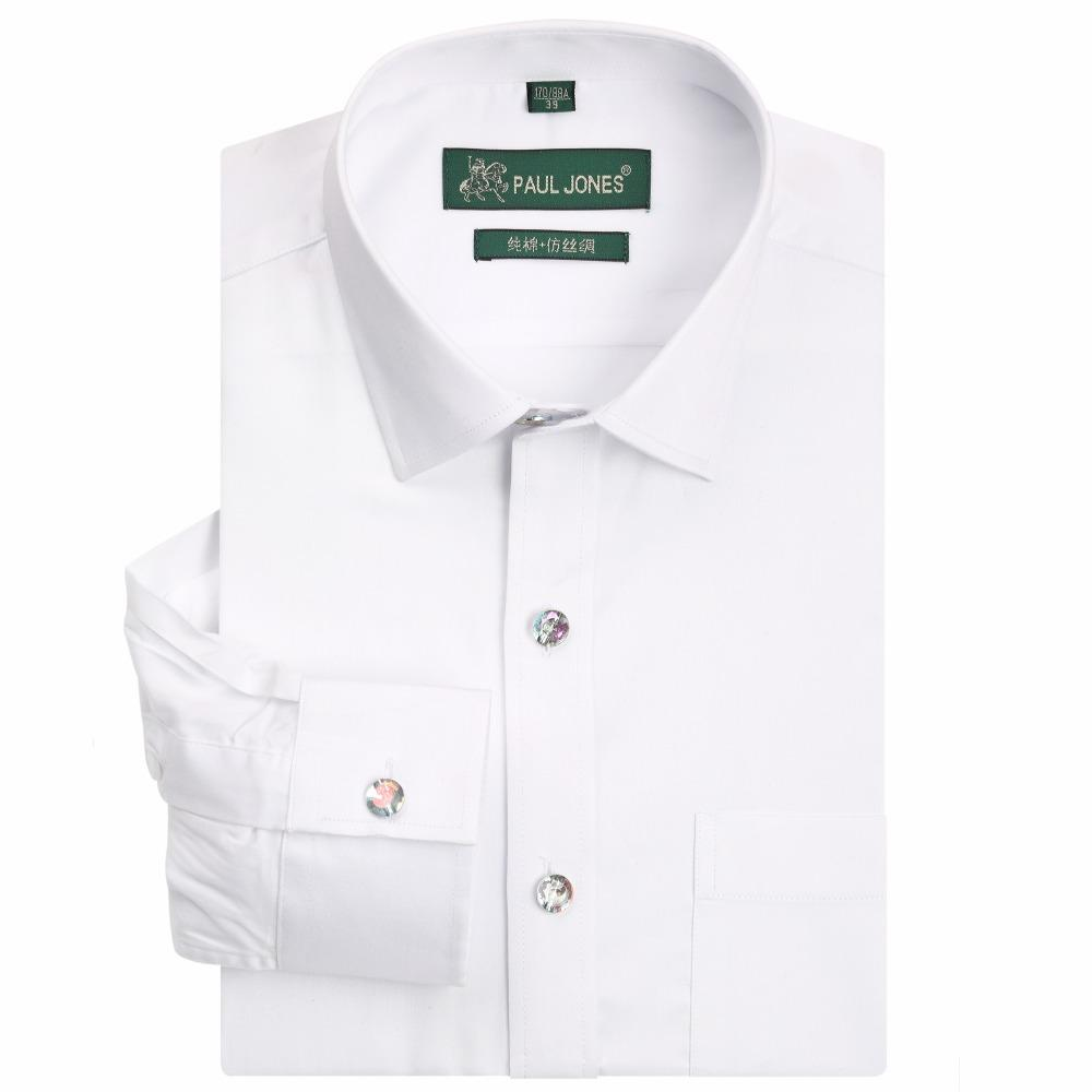 2019 Long Sleeve Regular Fit Men Dress Shirts Classic Style High