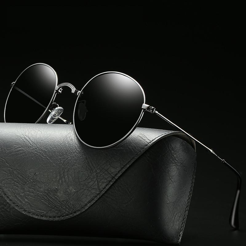 9051eb79bf2 2019 New Fashion Oval Sunglasses Men Women Brand Designer Foldable Polarized  Lens Driving Sun Glasses For Men Women Oculos UV400 Knockaround Sunglasses  ...