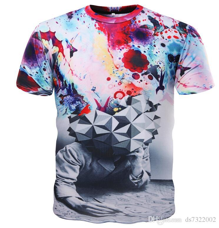 12bcd4d8e09 Men S Tops Tees 2019 Summer New Cotton V Neck Short Sleeve T Shirt Men  Fashion Trends Fitness Tshirt LT39 Size 5XL Deal With It T Shirt Ts Shirts  From ...
