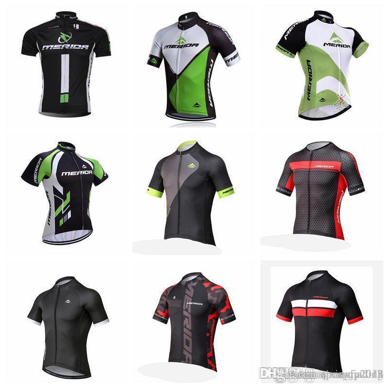 Maillot Ciclismo Hombre 2018 MERIDA New Men Cycling Jersey Short ... caf6621fe