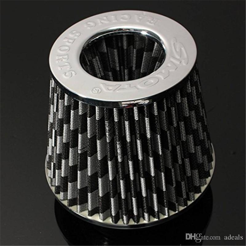 Filtre universel d'admission d'air froid Système de tuyau de tuyau d'induction Alumimum rouge bleu et noir pour voiture