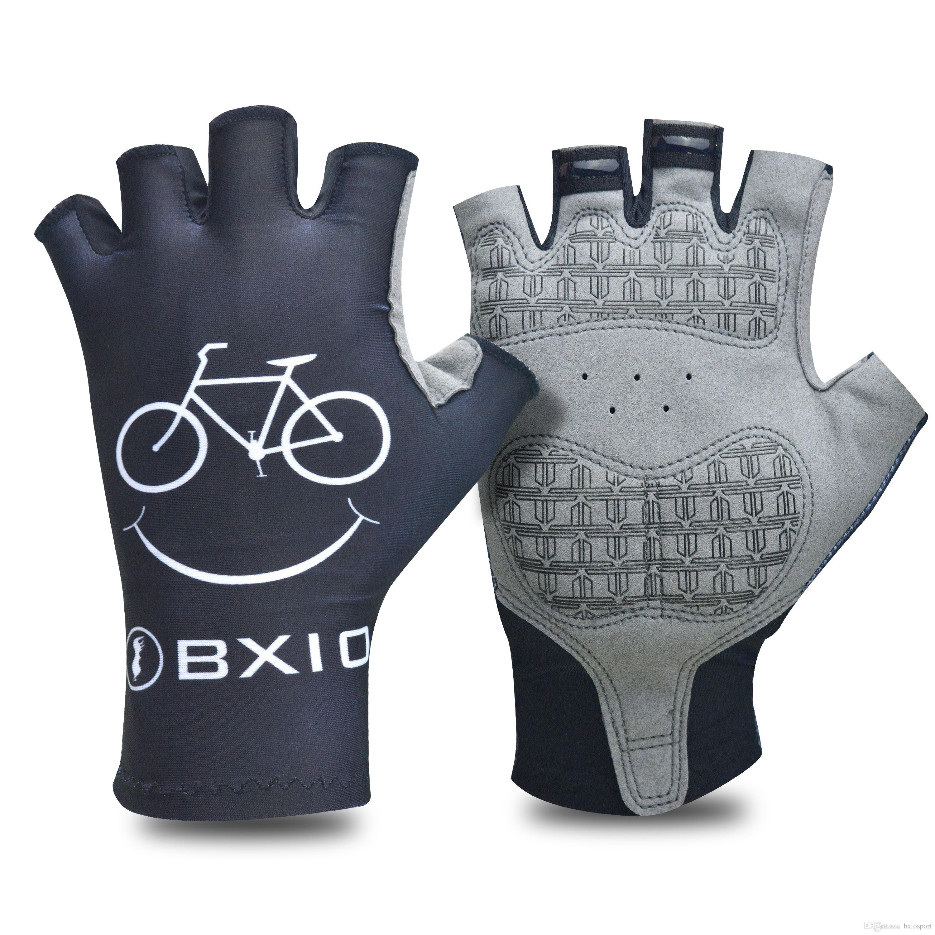 BXIO Brand Cycling Glove High Elastic Lycra Bike Mittens Cool Style