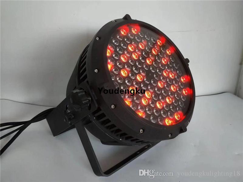 옥외 IP 65는 옥단 빛을지도했다 120x3w 쿼드 색깔 동위 64 RGBW 파 빛을지도했다