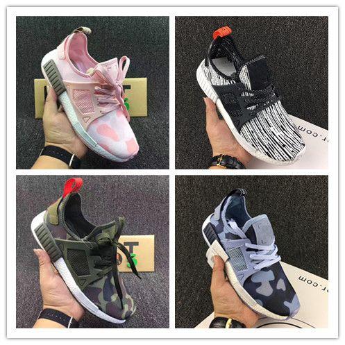 2018 New NMD XR1 Primekint Blue White Captain America Women Men Running Shoes Sport Designer Sneaker Olive Green Nmd XR1 PK Size 36-45 buy cheap footaction PYlh5