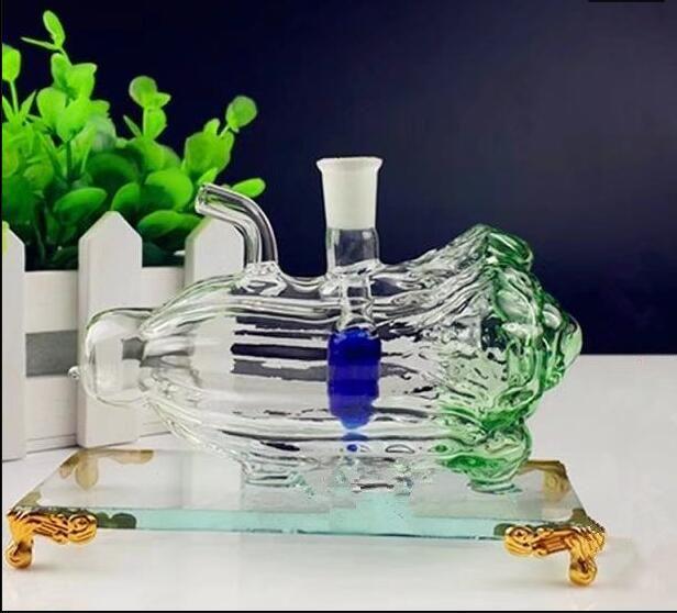 Botella de agua de cristal de col china