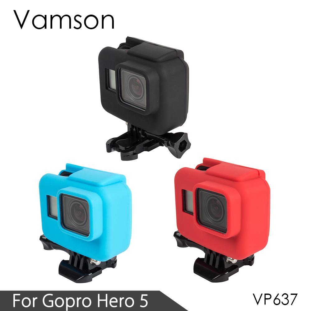 Silicona Suave Funda para Gopro Hero 5 Accesorios Cámaras Protector 5 Colours