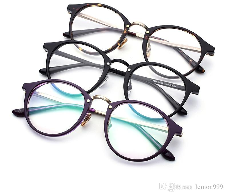 2018 Retro Round Eyeglasses For Women Optical Glasses Frame Brand ...